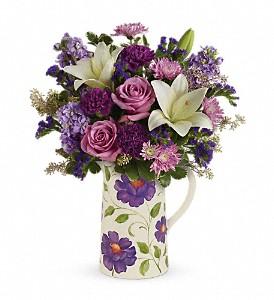 Garden Pitcher Bouquet Flowers Mother Day