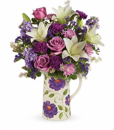 Garden Pitcher Bouquet Teleflora