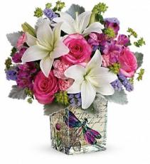 Garden Poetry Bouquet T18M405A