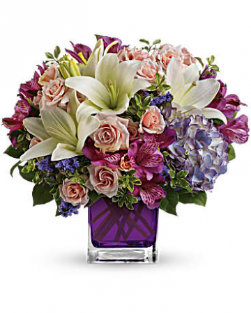 Garden Romance Bouquet Fresh Arrangement