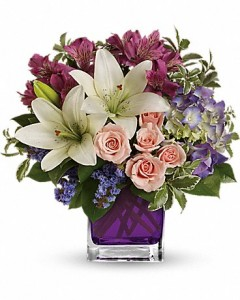 Garden Romance Vase Arrangement