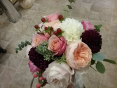 Garden Rose Bouquet Bridal Bouquet