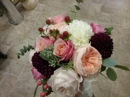 Garden Rose Bouquet Bridal Bouquet