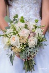 Garden Rose Bouquet Wedding Bouqet