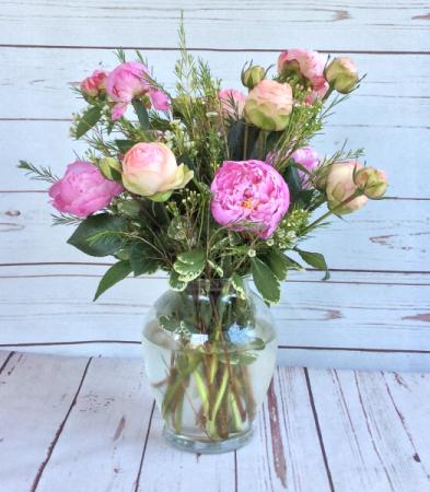 Garden Rose Peony Vase Of Fragrance In Culpeper Va Endless
