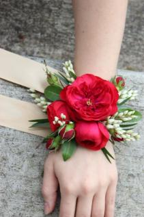 Garden Rose Wristlet Corsage