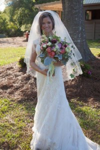 Garden Roses bouquet Bridal Bouquet in Gulfport, MS | FLOWERS FOREVER & GIFTS