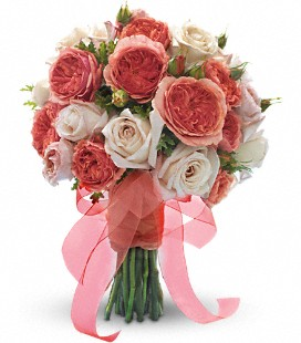 Garden Roses Bridal bouquet