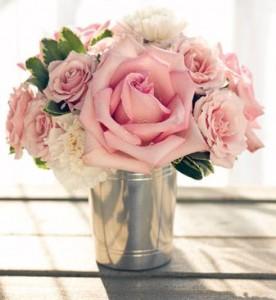 Garden Roses in the Summer