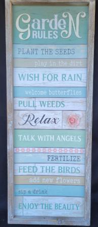 Garden Sign Sign
