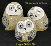 Garden Solar Hoot Owl - Set of 3 Mothers Day Hoot Owl Set