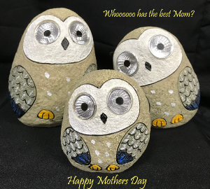 Garden Solar Hoot Owl - Set of 3 Mothers Day Hoot Owl Set in West Monroe, LA | ALL OCCASIONS FLOWERS AND GIFTS