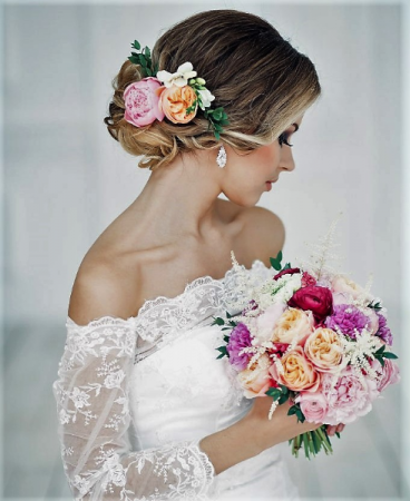 Garden Sonnet Bridal Bouquet