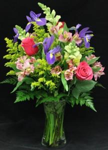 Garden Spring Vase Arrangement
