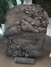 Garden Stone - Always in our Hearts Sympathy