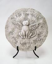 Garden Stone - Cat Memorial Stone