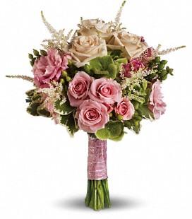 Garden style Pink Bridesmaid bouquet