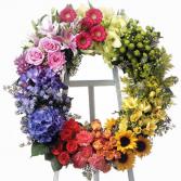 Garden Style Wreath