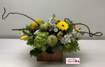 Garden Stylized  Flower Arrangement
