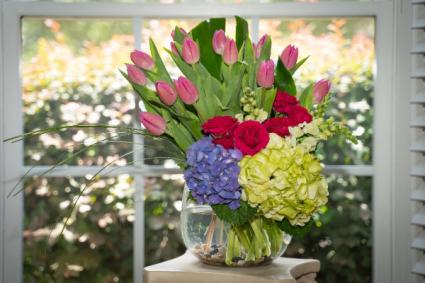 Garden Tulips Bouquet