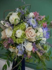 Wedding bouquet  of Garden flower
