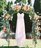 Garden Wedding Spectacular Floral Arch