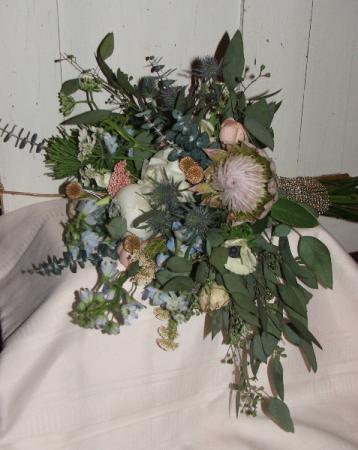 Garden Whimsy Handheld Bouquet