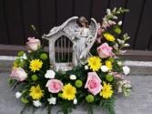 Garden Windchime Angel Sympathy