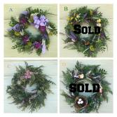 Garden Wreath (Artificial)