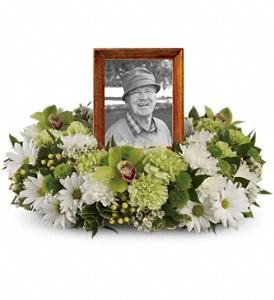 Garden Wreath Memory Piece