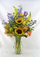 Gardener's Delight Vase Arrangement