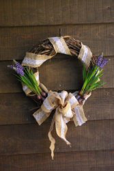 Gardener's Dream Wreath Grapevine wreath