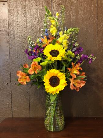 Gardener's Glory Vase Arrangement