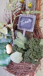 Gardener's Grapevine Wall Basket