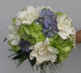 Gardenia Charm Wedding Bouquet