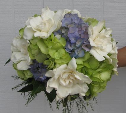 Gardenia Charm Wedding Bouquet