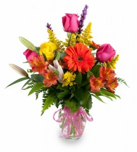 Gardens Delight Large arrangement of fresh cut flowers