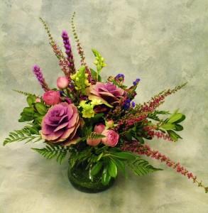 Garden's Gift  Unique Floral Arrangement