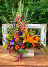 Garden's of Fall Bouquet  PFD-503