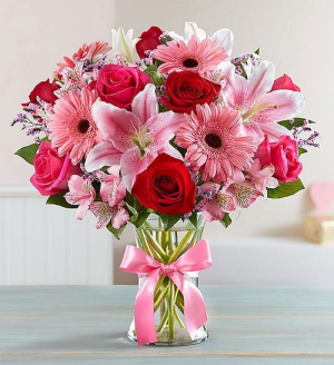 Gardens of Romance PFD21V500  Available in Medium, Large, X-Large in La Plata, MD | Potomac Floral Design Studio