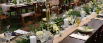 GARLAND TABLE CENTERPIECE WEDDING
