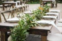 Garlands and Greenery  Wedding Flowers