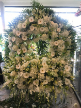 Gates Of Heaven Funeral Flower Tribute Custom Funeral Piece