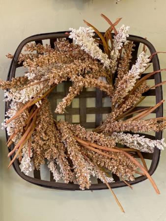Gathering Basket Wreath