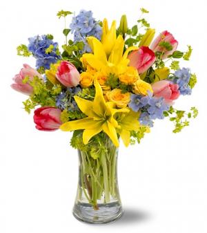 Gatherings Floral Arrangment in Colorado Springs, CO | ENCHANTED FLORIST II