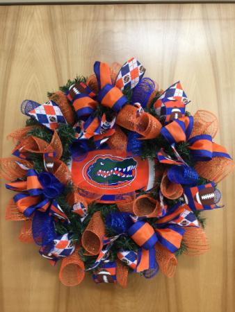 Gator Wreath Wreath of Stand