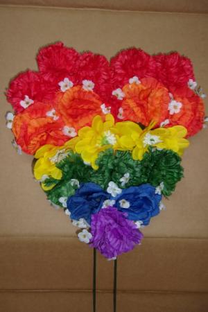 GAY PRIDE HEART $17.99 $17.99