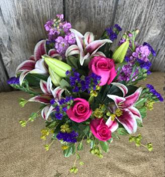 Gazing Love Floral Arrangement
