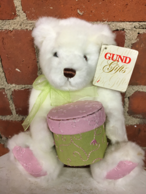 Gemma Bear Gund Plush Animal in Naugatuck, CT | TERRI'S FLOWER SHOP