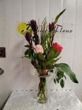 Gen-Sophistication Featuring an Australian Protea!